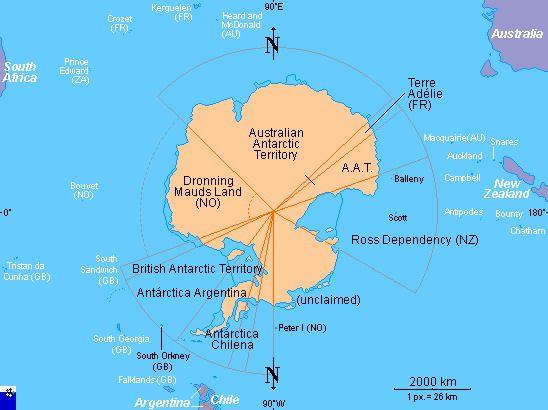Карта Антарктика (Антарктида) - географическая карта ...: http://www.webturizm.ru/country/country_map.php?country_id=1048