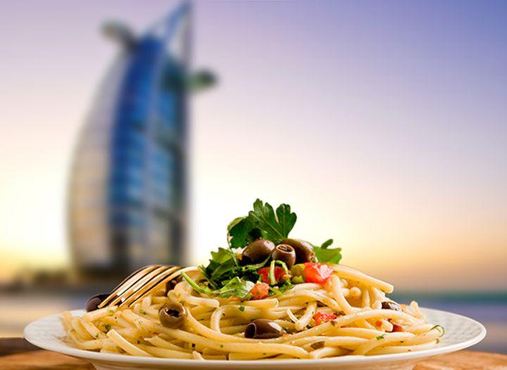 Фестиваль еды в Дубае