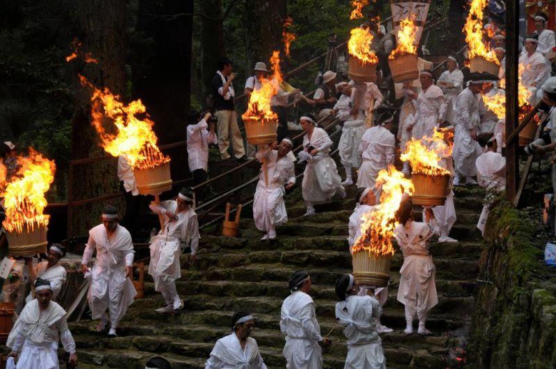 "Япония отметит праздник огня ""Нати"""