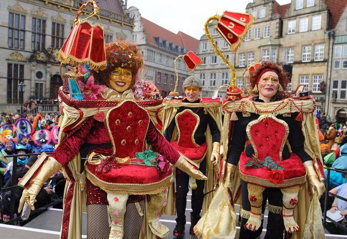 Яркий карнавал пройдет в Бремене в конце февраля