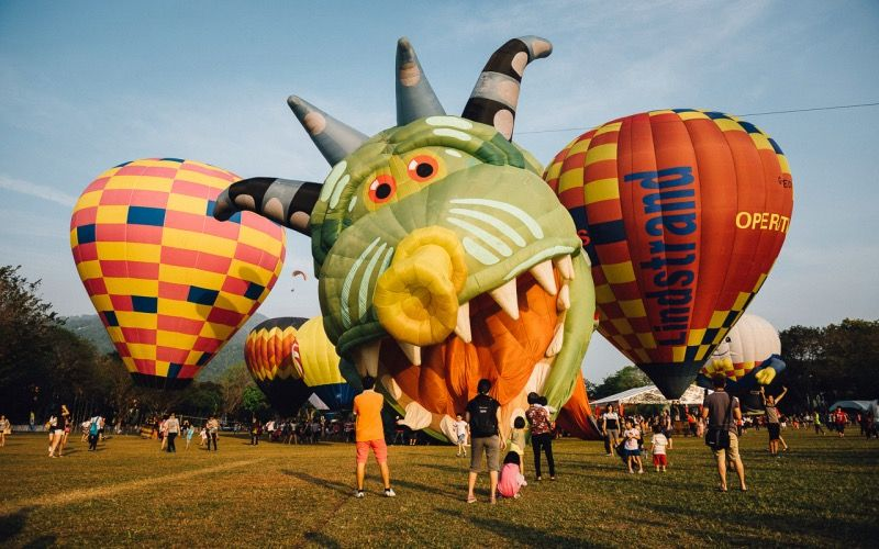Сотни воздушных шаров поднимутся в малайзийское небо в конце марта