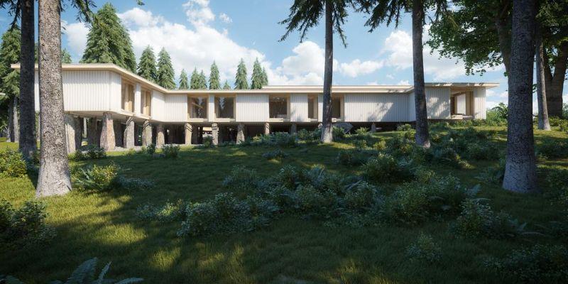 В Чехии в ходе конкурса было выбрана здание года