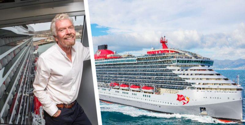Британский предприниматель Ричард Брэнсон запустил круизы для богатых
