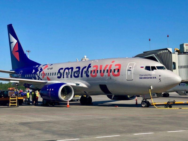 Новый авиаперевозчик Smartavia будет летать в Анапу