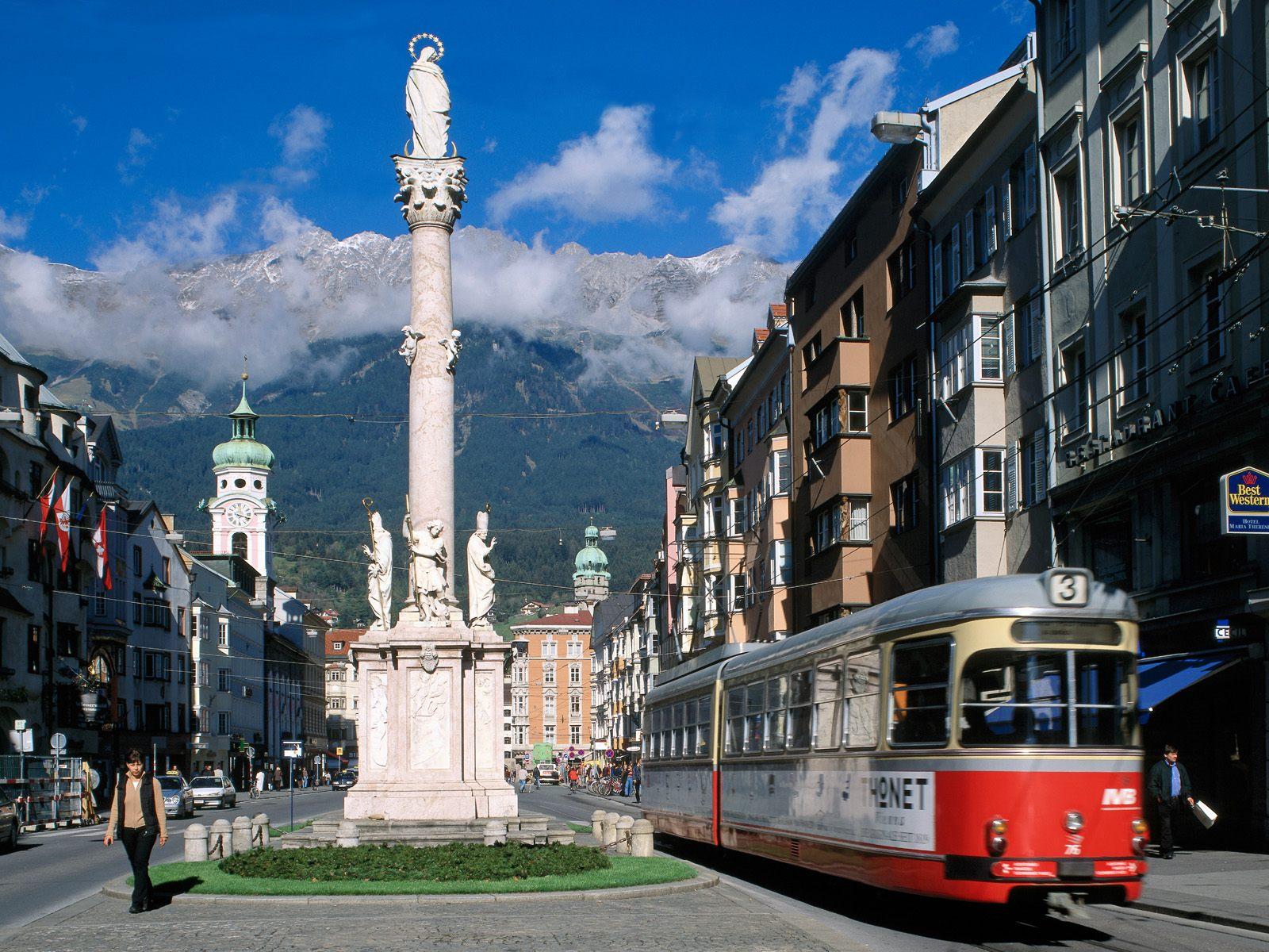 Инсбрук, Австрия, улица бесплатно