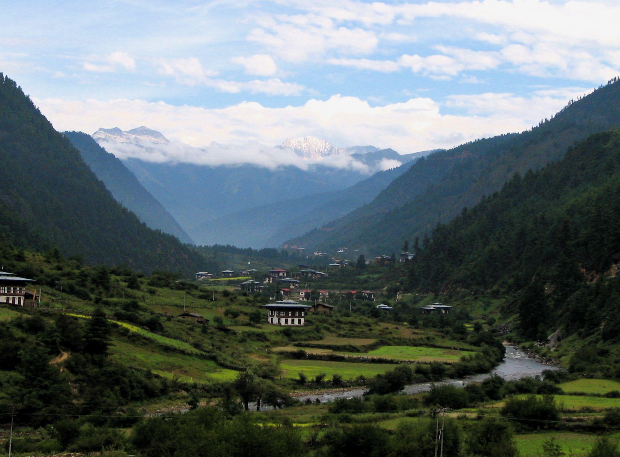 Бутан фото #8302