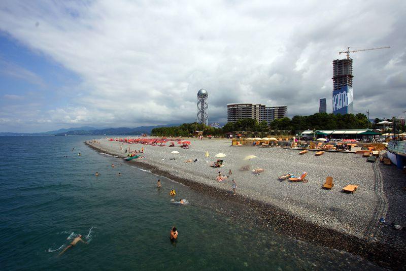 Лазаревское пляж фламинго фото этом сообщил