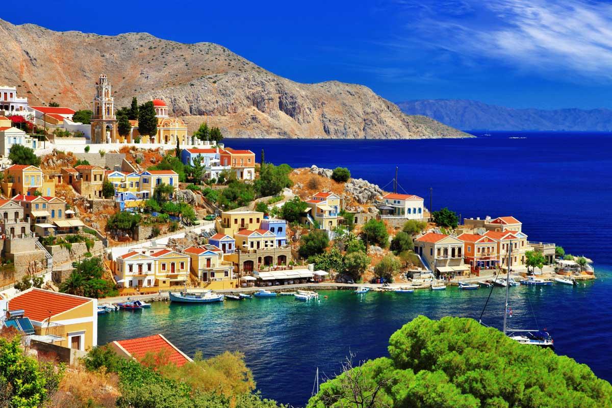 Родос в Греции – благословенный солнечный остров, настоящая жемчужина Средиземноморья.