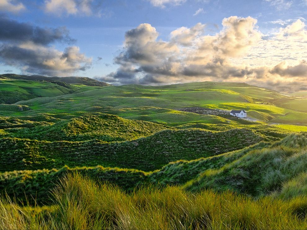 работала региональном фото пейзажей ирландии как мужем