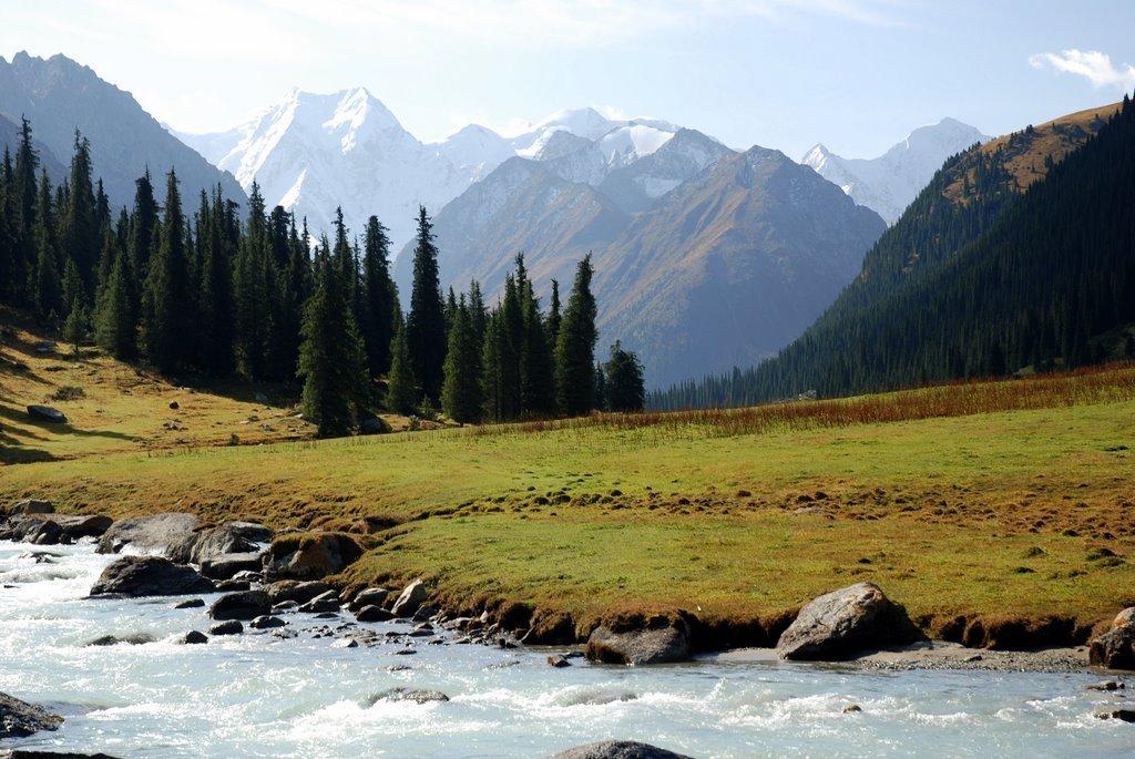 Живые картинки природа кыргызстана посмотреть