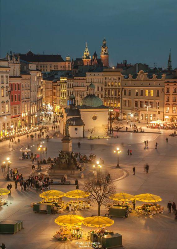 польша красивейшие города фото сюда общественном транспорте