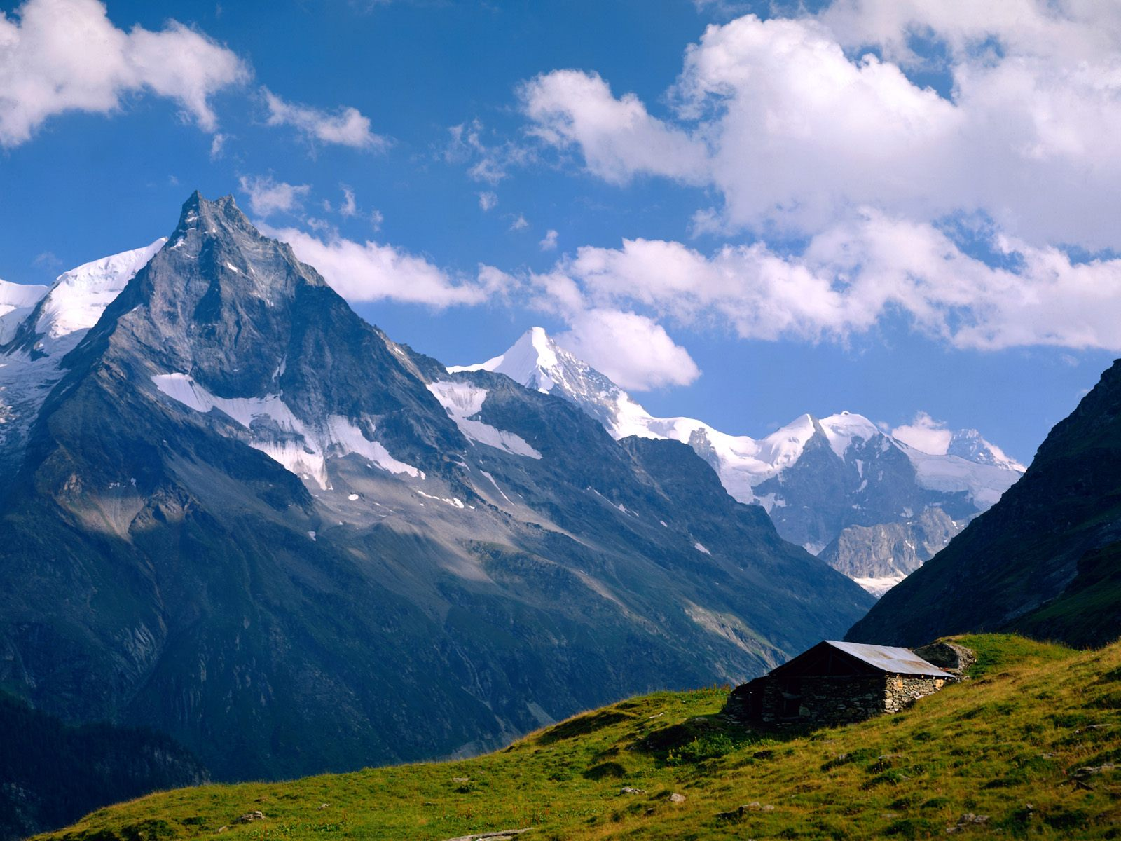 картинка пейзажа гор