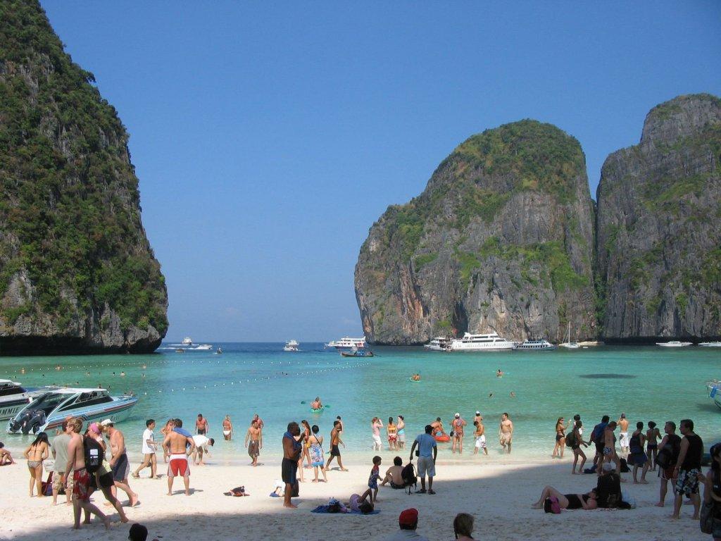 устюг пхи пхи таиланд фото туристов как