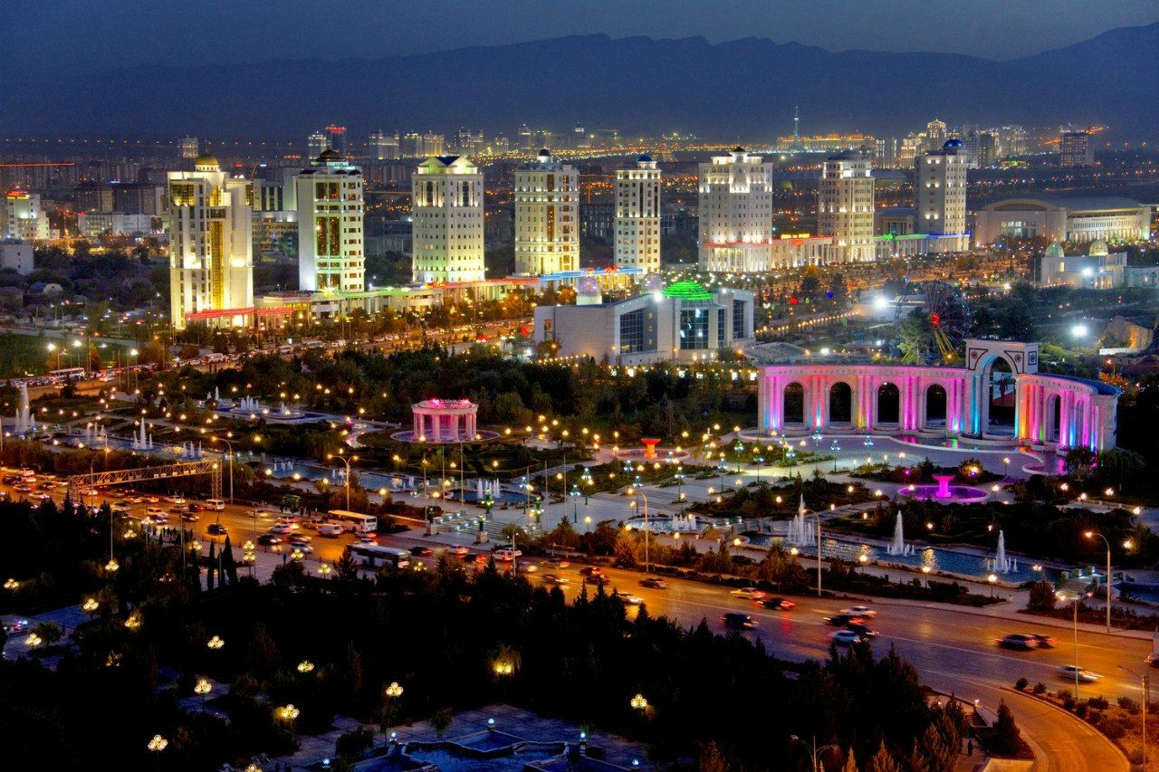 туркменистан город ашхабад фото больше