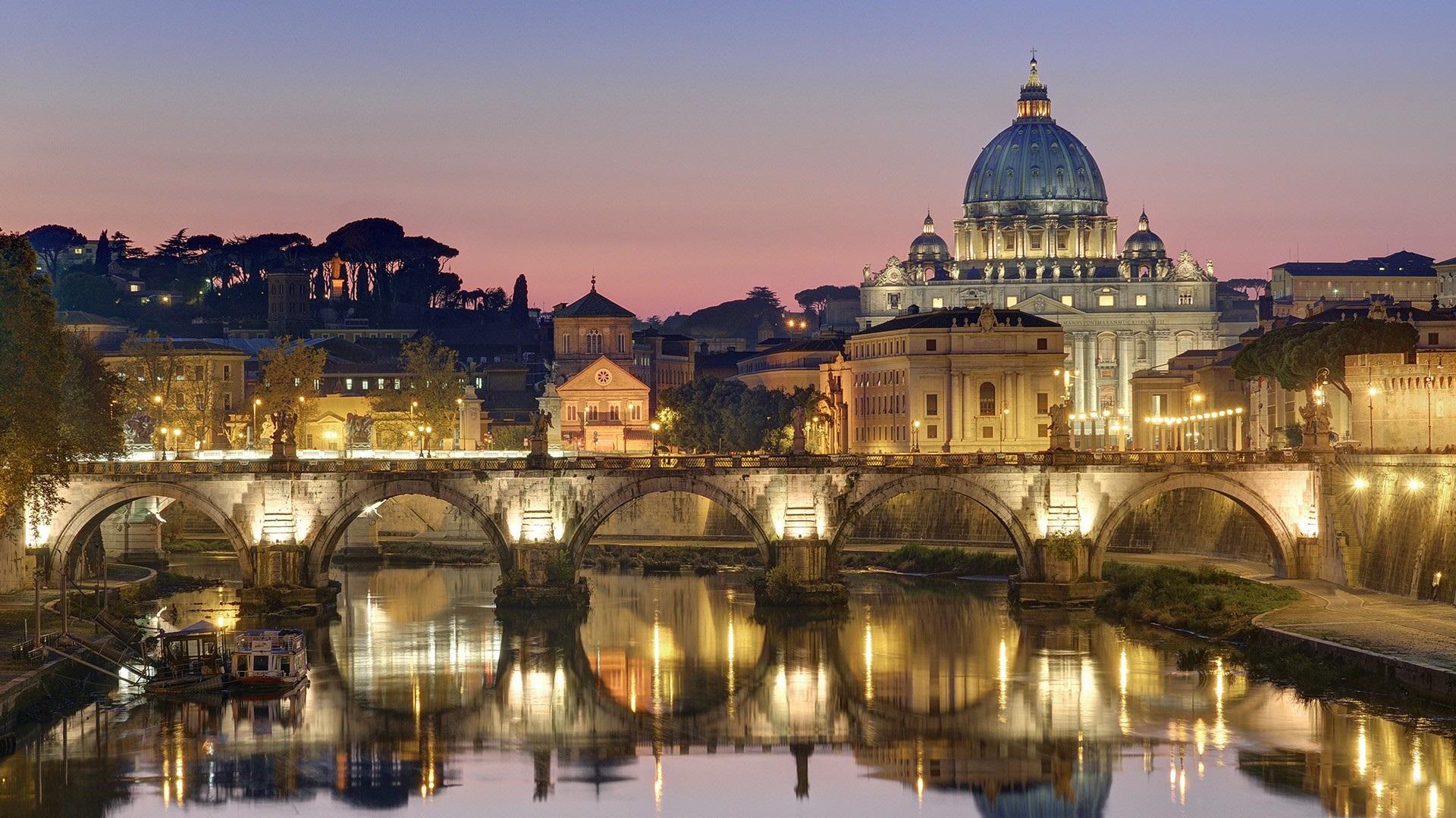 Рим страны архитектура город смотреть