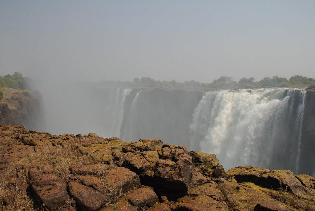 Зимбабве водопад виктория фотографии