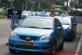 Такси  Bluebird