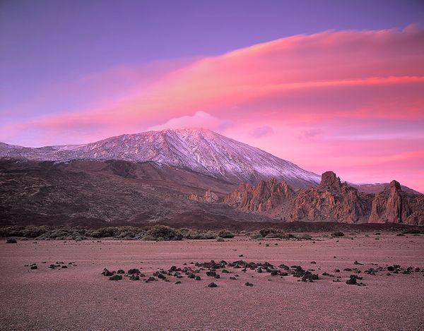 Вулкан на тенерифе